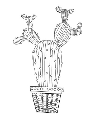 Dibujos De Cactus Kawaii Para Colorear Dibujos De Cactus Para