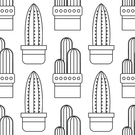 Coloring With Cacti Coloring Page Hilarious Family Of Cacti