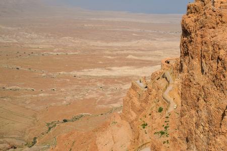 masada: Masada, Israels desert Stock Photo