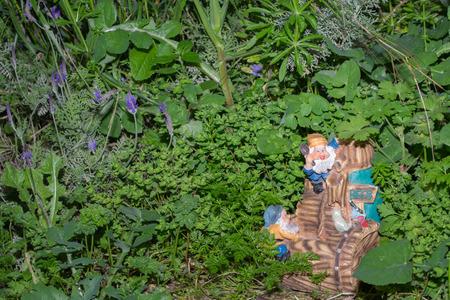 dwarves: dwarfs in the grass Stock Photo