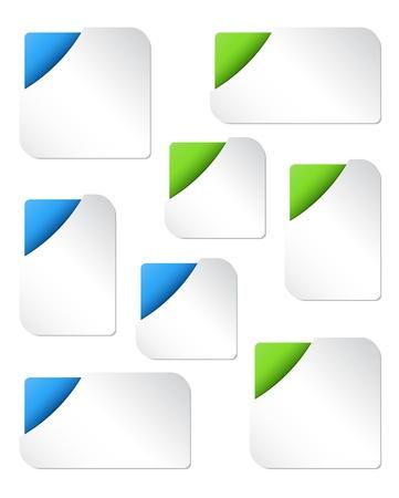 Blank Web Banner Templates Stock Vector - 16111129