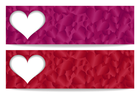 adore: Valentine gift certificate with paper heart and heart ornament