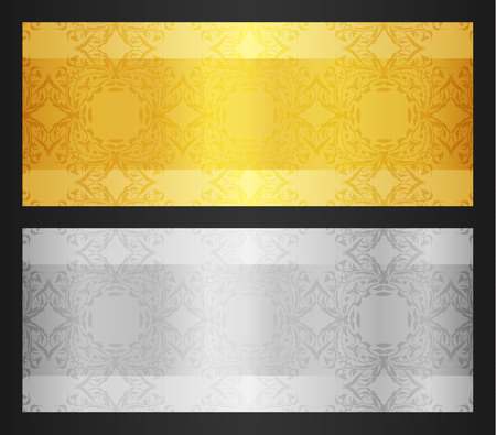 Gold VIP Club Card Vettoriali