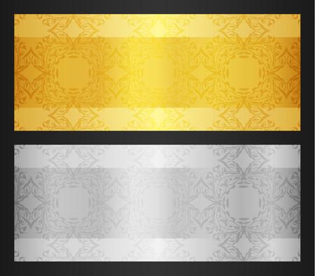 Gold VIP Club Card Illustration