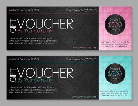 low prizes: Gift voucher template