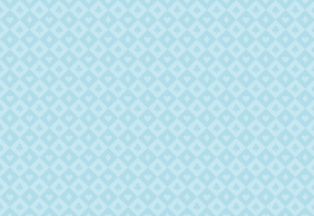 Minimalistic light blue poker background with seamless texture composed from card symbols 向量圖像