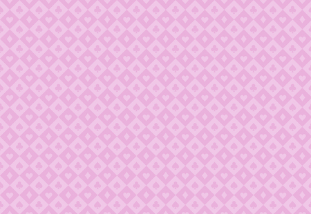Minimalistic pink poker background with seamless texture composed from card symbols