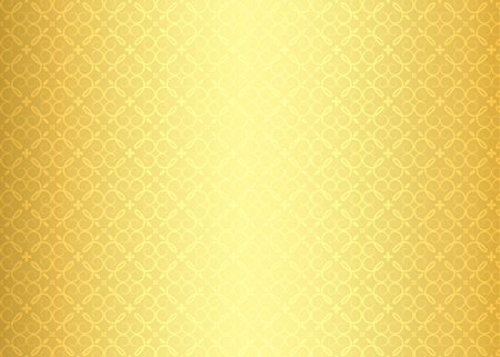 Luxury golden background with ornamental pattern