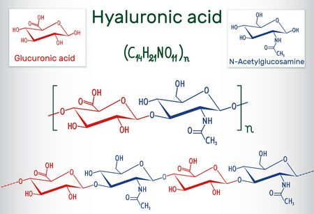 Hyaluronic acid  chemical formula