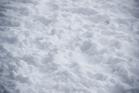 icey: Surface texture of winter russian snow