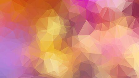 Triangle Geometrical Background, Rainbow polygon swirl design. Rainbow Colorful swirl rainbow polygon Иллюстрация