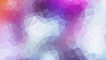Triangle Geometrical Background, Rainbow polygon swirl design. Rainbow Colorful swirl rainbow polygon