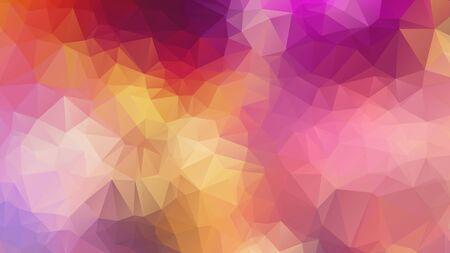 Triangle Geometrical Background, polygon swirl design. Colorful swirl polygon
