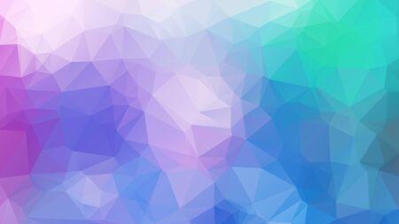 Abstrakcyjne tło. Kolorowe tło dla projektu. Wektor wzór szablonu. Geometryczna mozaika trójkątna kolory morza i piaskowego nieba. ramka ilustracji wektorowych