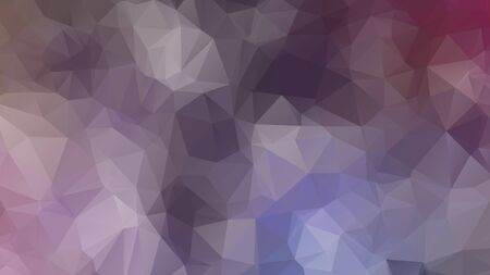 Abstract geometric style brown background. Autumn-colored business background Vector illustration. Red, brown, purple colors. Simple polygon background Иллюстрация