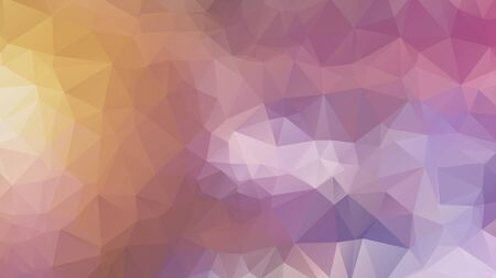 Abstract geometric style brown background. Autumn-colored business background Vector illustration. Red, brown, purple colors. Simple polygon background 矢量图像
