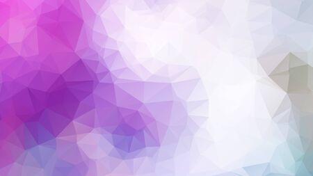 Abstract 2D geometric colorful background Vektorové ilustrace