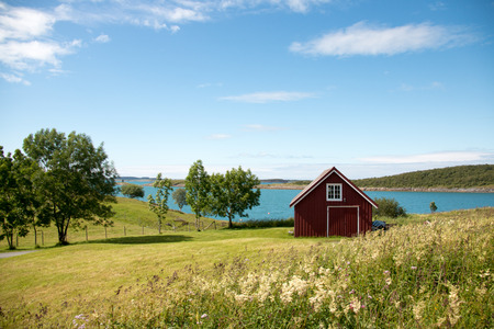 boathouse: Norwegian boathouse