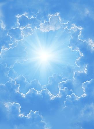 Fantasy beautiful clouds photo