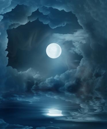noche y luna: magia de la luna
