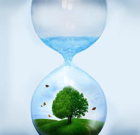 sandglass: eco concept
