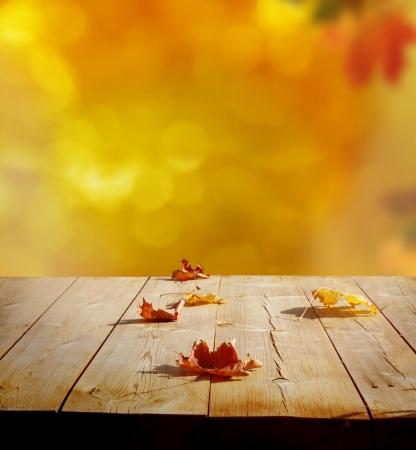 holz: Herbst Hintergrund