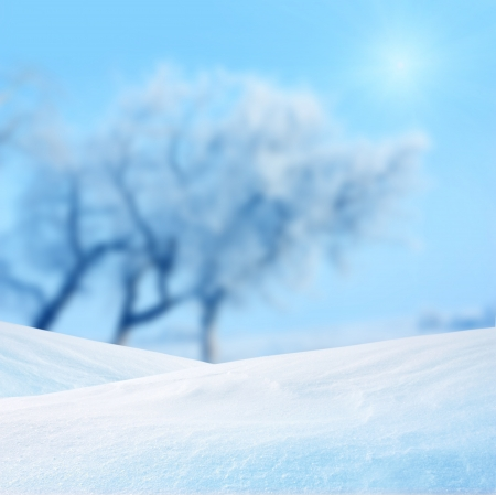 winter background Stock Photo - 16270792