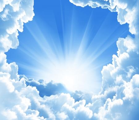 himlen: vackra moln