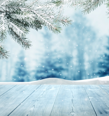 invierno: fondo de invierno