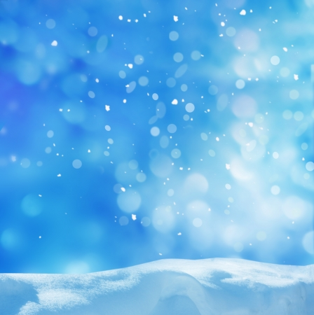 wintry weather: winter background