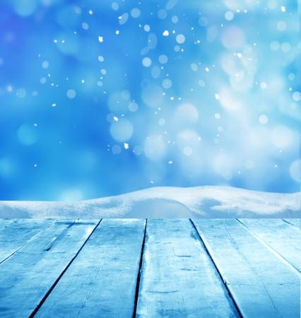 겨울 배경