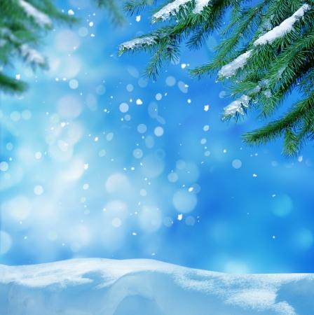 montañas nevadas: de fondo de invierno
