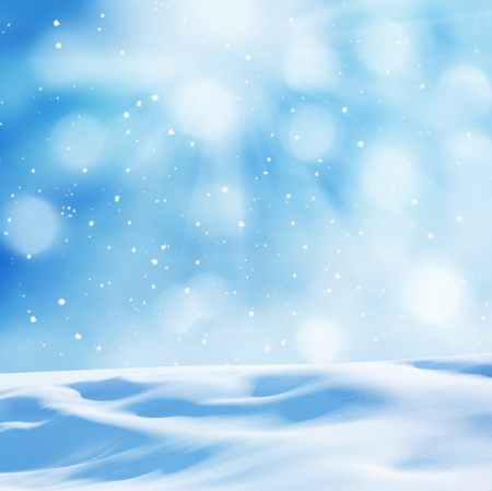 flake of snow: winter background