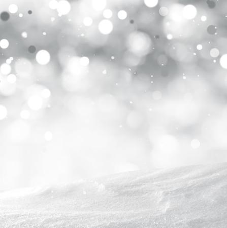 snow scene: winter background