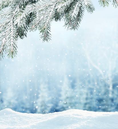 de fond en hiver Banque d'images