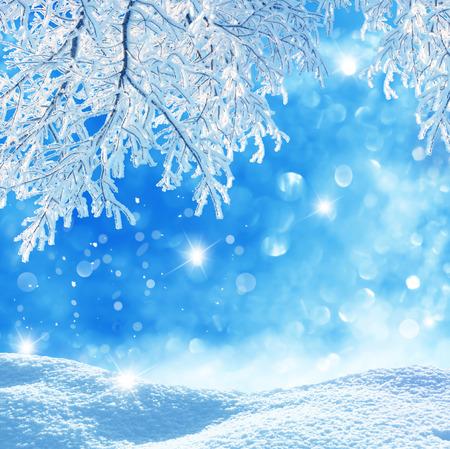 winter background Reklamní fotografie - 25985886