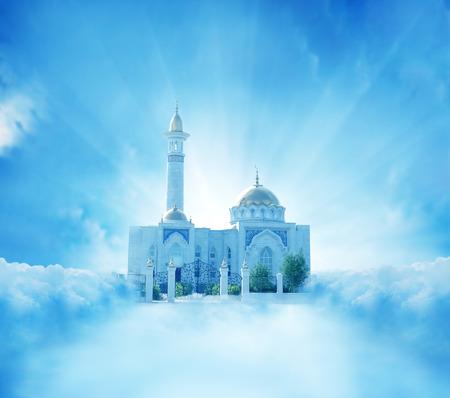 ramzan: mosque  Stock Photo