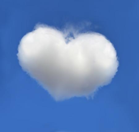 cloud heart Reklamní fotografie
