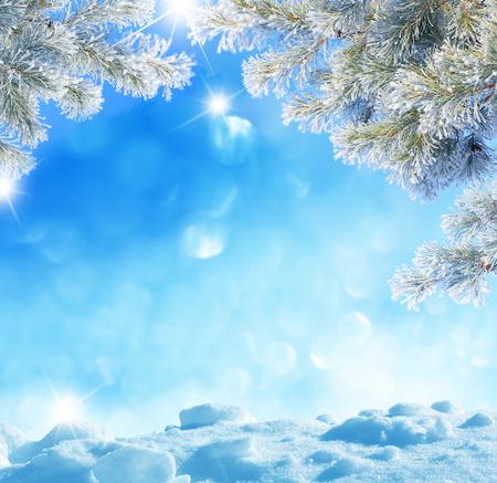 겨울 배경 스톡 콘텐츠 - 33212979