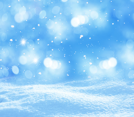 winter christmas background Standard-Bild