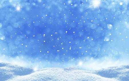 neige noel: hiver no�l paysage Banque d'images