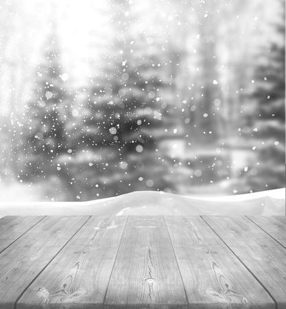 冬の背景 写真素材