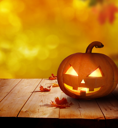 Halloween pompoen Stockfoto - 44697402