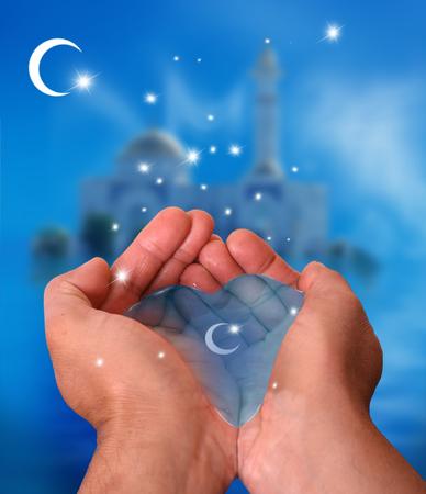 Ramadan Kareem background 스톡 콘텐츠