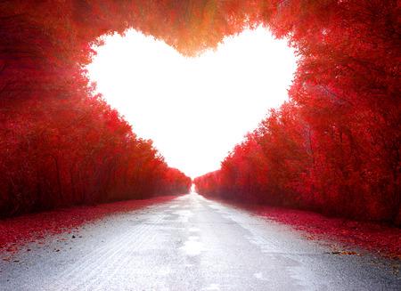liebe: Straße der Liebe Lizenzfreie Bilder