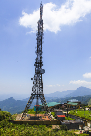 3g: 3G base station in Vietnam Stock Photo