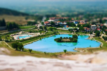 pamukkale: Mineral oasis in Pamukkale, Turkey