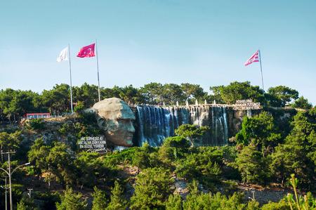 ataturk: Ataturk relief in Antalya, Turkey Stock Photo