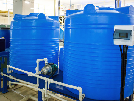 food industry: Blend coupage tank for water and beverages in food processing industry