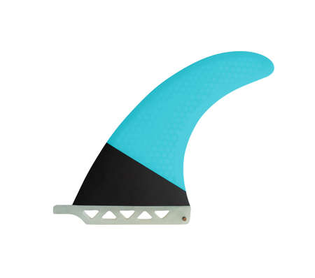 Fin for surfboard or Stand Up Paddle isolated on white background